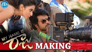 My Name Is Raju Making Stills | Ram Charan | Rakul Preet Singh | Srinu vaitla