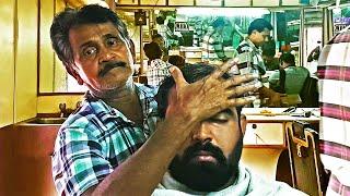 Head Massage by Ancient Indian Hairdresser - ASMR No Talking