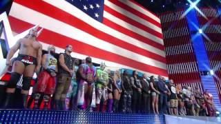 WWE opens Raw with a Memorial Day WWE Raw 30 May 2016 HD