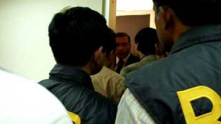 An officer of British American Tobacco Company (Bangladesh) insulting RAB officer on Mobile Court