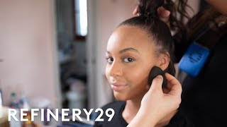 Get Ready With Nia Sioux For The Streamy Awards | Get Glam VR | Refinery29