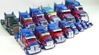 Transformers Movie 5 TLK & 4 AOE Blue Color Optimus Prime 15 Truck Vehicle Car Robot Toys
