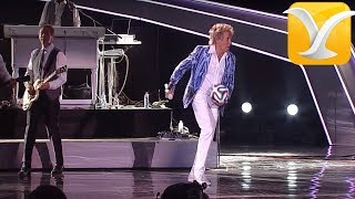 Rod Stewart - Hot legs - Festival de Viña del Mar 2014 HD
