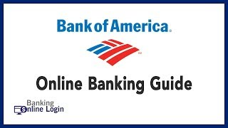 Bank of America Online Banking Guide   Login - Sign up