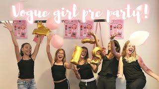 VOGUE GIRL PRE PARTY & NIEUW KATJE vlog 1 ✗ Forever Jade