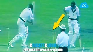 HIT Wicket TWICE But NOT OUT - WHY ???  Worst Umpiring Ever !!
