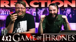Game of Thrones 4x2 REACTION!!