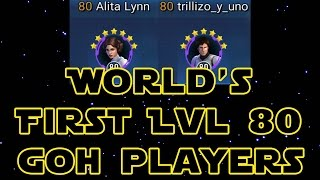 World's First LVL 80 SWGOH Players: [iN] Alita & [iN] Trill