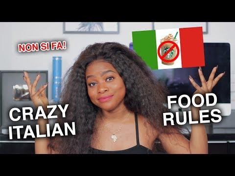Xxx Mp4 4 CRAZY ITALIAN FOOD RULES 3gp Sex