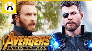 Captain America & Thor Reunion Scene Revealed   Avengers Infinity War