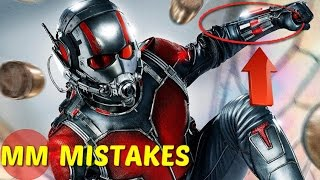 13 Amazing Mistakes In The Ant Man You Missed | Ant Man Movie Mistakes