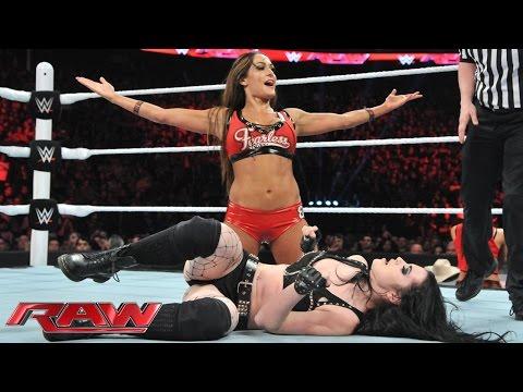 Xxx Mp4 Nikki Bella Vs Paige – Divas Championship Match Raw March 2 2015 3gp Sex