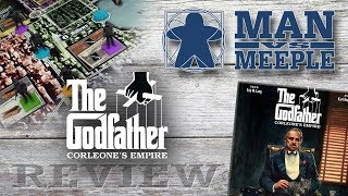 The Godfather: Corleone's Empire (CMON) Review by Man Vs Meeple