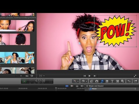 How to import a photo/video to your iMovie or FCPX Project  | TECH TALK