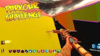 PARKOUR CHALLENGE ZOMBIES - *HARD MAP* (Black Ops 3 Custom Zombies)