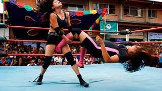 Second Nepali Ladies  Wrestling Showed at Kalimati | Medianp.com