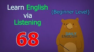 Learn English via Listening Beginner Level | Lesson 68 | My Classroom