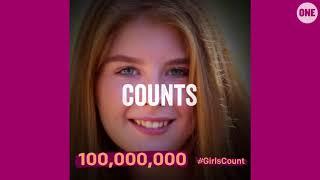 #GirlsCount | Plan International - 100,000,000