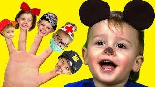 Canción de La Familia Dedo | Canciones InfantilesEn Español Are you sleeping  Nursery Rhyme Song