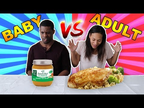 Xxx Mp4 ADULT VS BABY FOOD CHALLENGE 3gp Sex