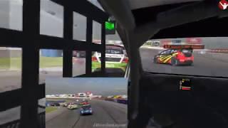 my very 1st iRacing GRC series VR race