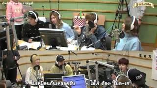 160303 [Thai Sub] Kiss The Radio with Mark, BamBam, Amber, Sana, Momo, Sorn [4/6]