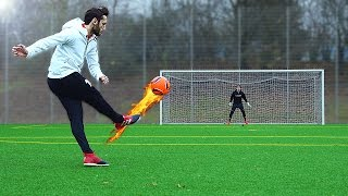 freekickerz vs Hakan Calhanoglu - Ultimate Free Kick Challenge