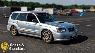 Prepping my STI Forester for the Track