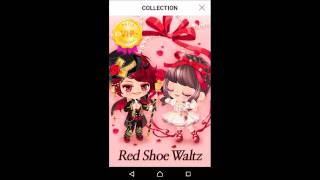 LINE PLAY 4 years Anniversary Spin VIP Gacha in VIP Castle -Red Shoe Waltz