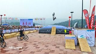 La Chine, nouvel eldorado des sports extrêmes