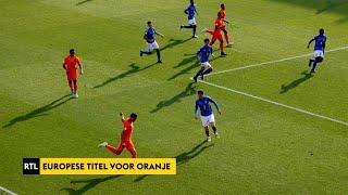 RTL Sport Update: Oranje onder 17 Europees kampioen - RTL NIEUWS