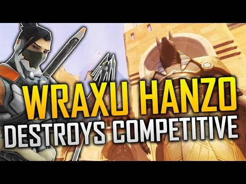 THE HANZO GOD WRAXU DESTROYS OVERWATCH COMPETITIVE