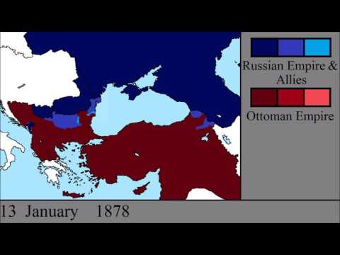 The Russo-Turkish War (1877 - 1878): Every Day
