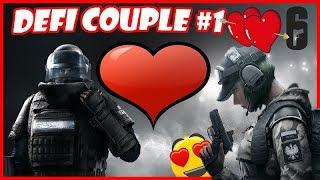 Les agents en couple! - Rainbow Six Siege Défi couple #1