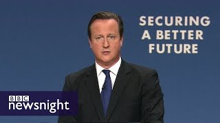 How will we remember David Cameron? - BBC Newsnight