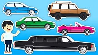 Nauka Pojazdów Dla Dzieci - Samochody Dla Dzieci - Kolorowanie   CzyWieszJak