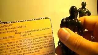 HCC788 - G. I. Joe Action Figure Review: 1982 Snake Eyes - S01E02