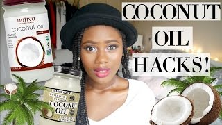COCONUT OIL HACKS! CLEVER WAYS TO USE COCONUT OIL | RAW ORGANIC COCONUT OIL