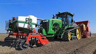 The potato planting train | *320 HP* John Deere 8320RT & Grimme GB 430 all in one