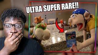 JEFFY DESTROYS A SUPER RARE POKEMON CARD! | SML Movie: Jeffy