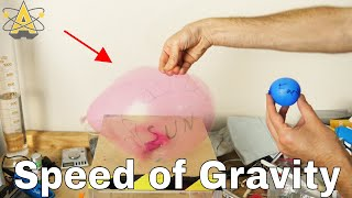 What is the Speed of Gravity? The Deleted Sun Experiment