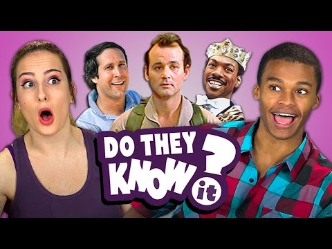 DO TEENS KNOW 80s COMEDY MOVIES REACT Do They Know It