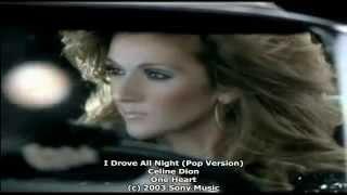 Celine Dion - I Drove All Night (Unreleased Version)