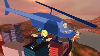 Cops Crazy First Day in Roblox / Jailbreak / Gamer Chad Plays