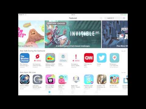 How to Search Apps on Broken iOS 10 App Store