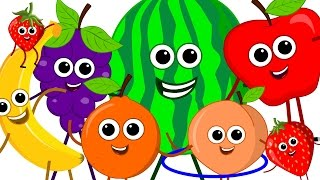 the fruits song | learn fruits | nursery rhymes | original song | kids songs | kids tv