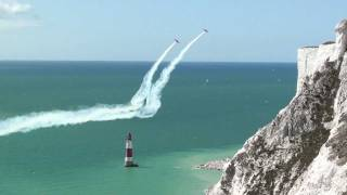 Beachy Head Cliff Edge Flybys. Eastbourne 2011.
