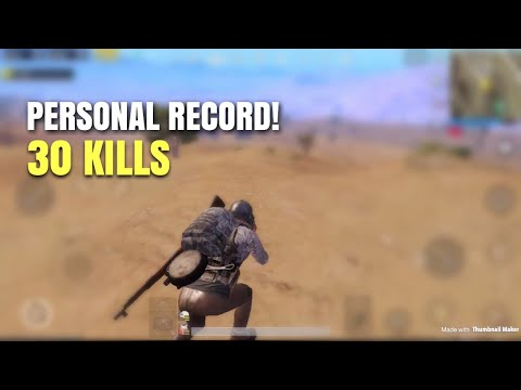 One Man Squad PUBG Mobile 30 KILLS WIN