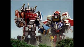 Power Rangers Operation Overdrive - It's Hammer Time - Megazord Fight 1 (Episode 17)