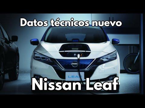 Nuevo Nissan Leaf 2018 Información